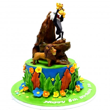 the lion king cake 6 6