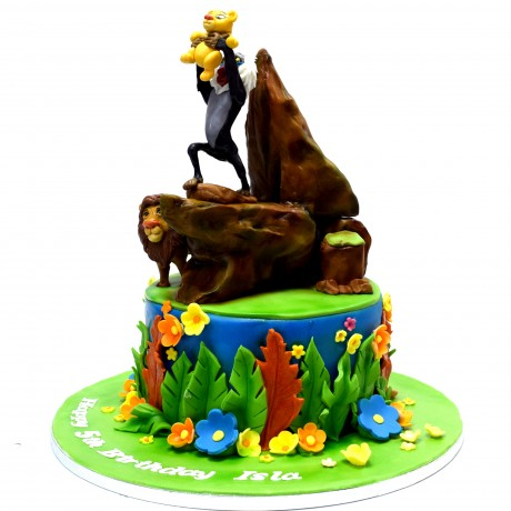 the lion king cake 6 8