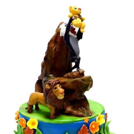 the lion king cake 6 7