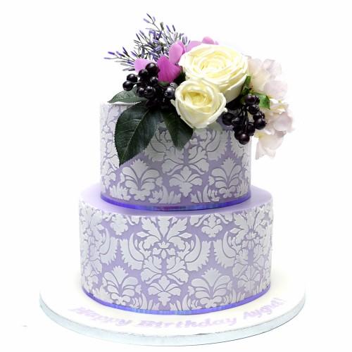 Damask Cake 2