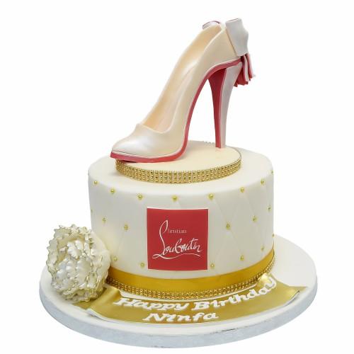 christian louboutin shoe cake 16 7