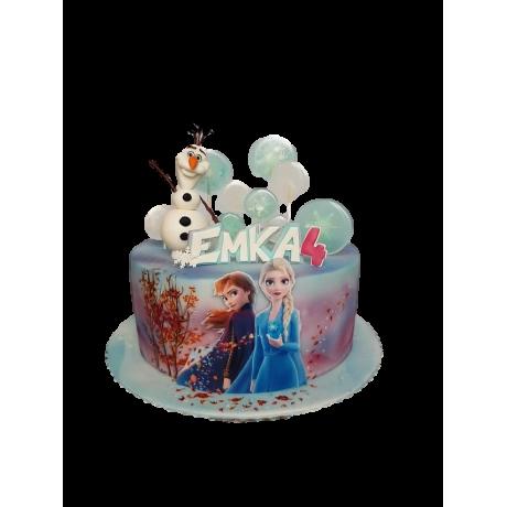 elsa and anna cake 3 12