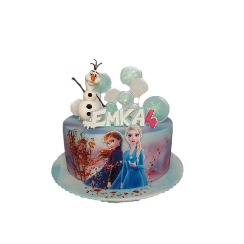 elsa and anna cake 3 13