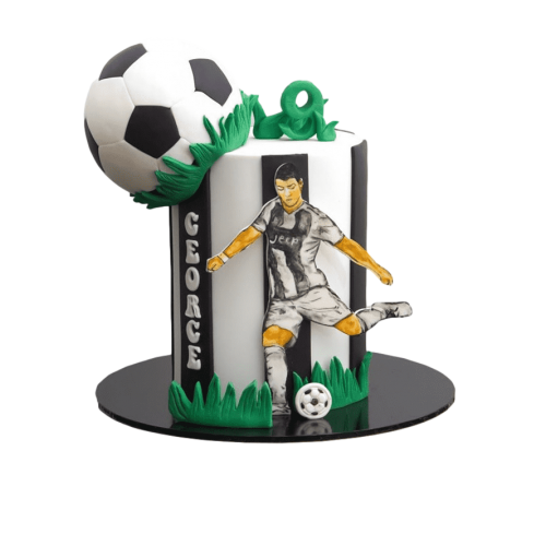 football cake 8 7