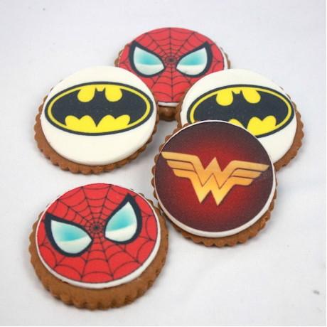 cookies superheroes 12