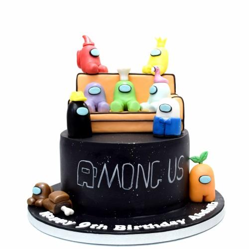 Among Us Cake 1