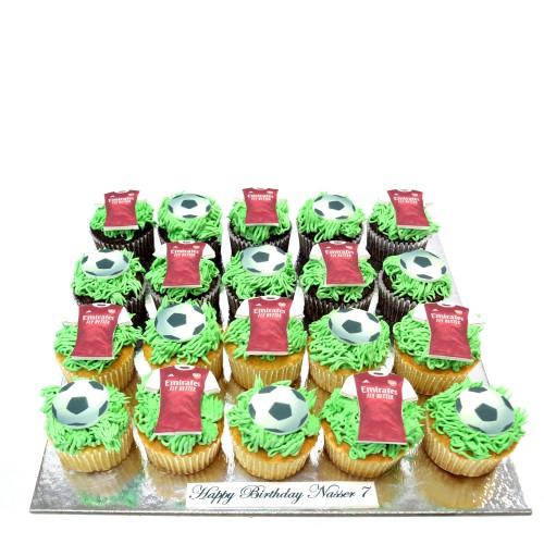 football cupcakes 3 13