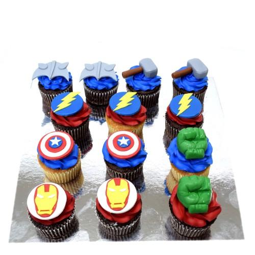 cupcakes superheroes 2 7