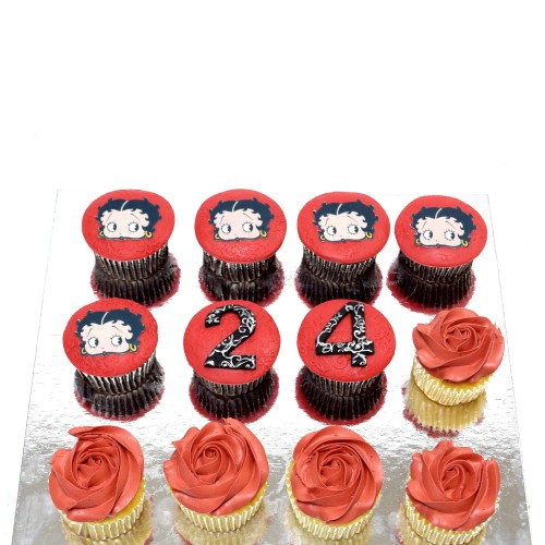 Betty Boop Cupcakes