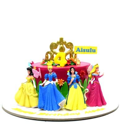 Disney Princesses cake 16