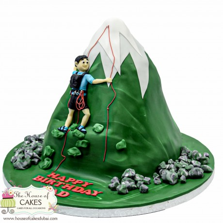 rock climbing cake 6