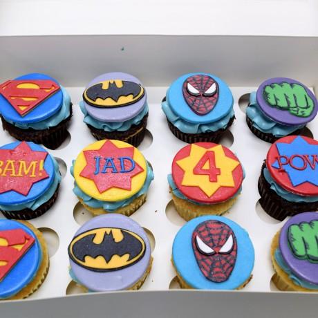 cupcakes superheroes 6