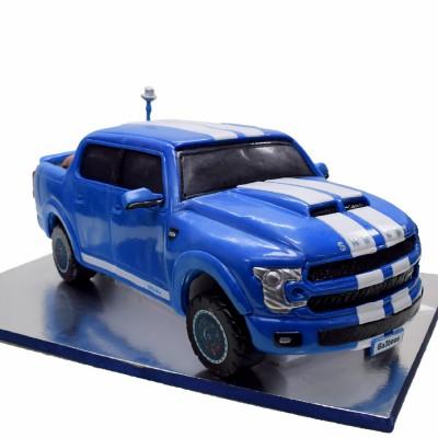 Ford Mustang Shelby Thundertruck cake
