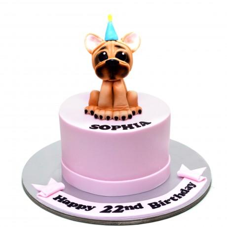 french bulldog cake 3 6