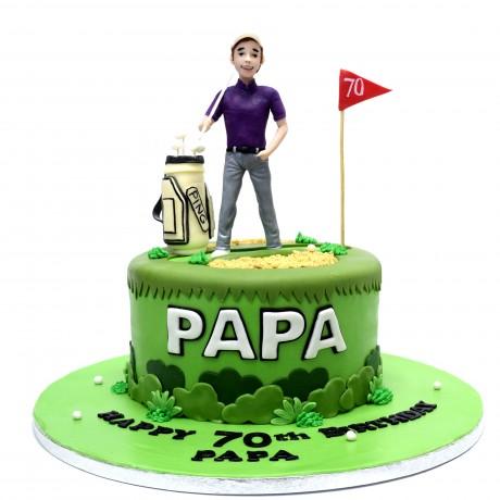 golf cake 6 12