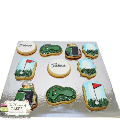 Golf Cookies 2