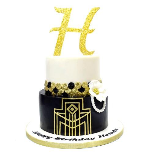 Great Gatsby Cake 3