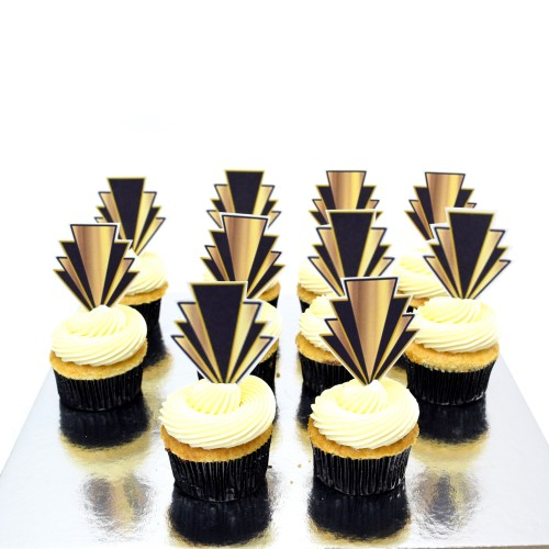 Great Gatsby Cupcakes 2