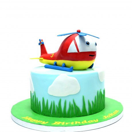 cake with helicopter 2 6