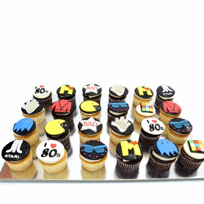 I love 80's cupcakes