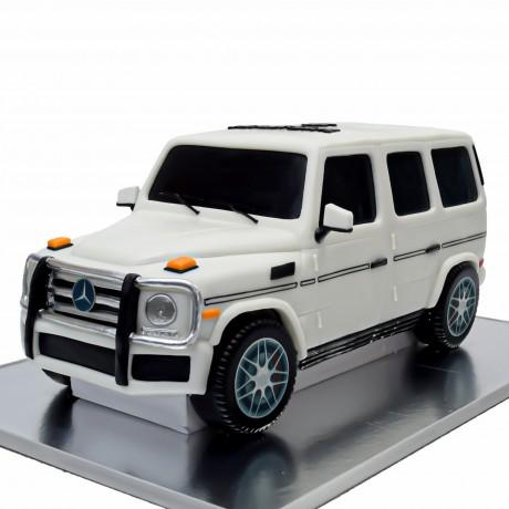 mercedes g55 cake white 6