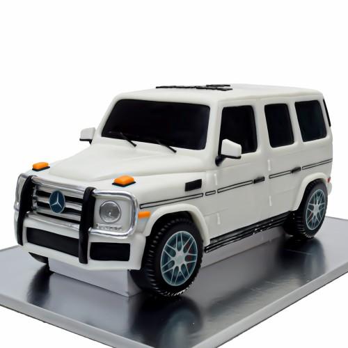 mercedes g55 cake white 9