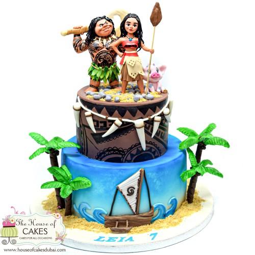 moana cake 9 10