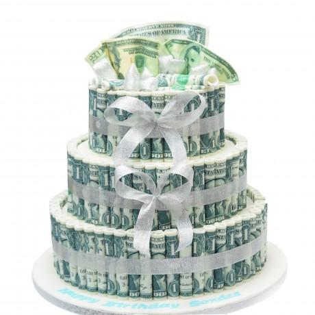 cake with money 6 12