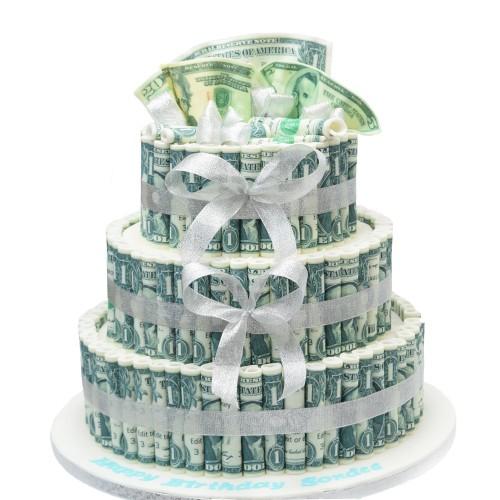 Cake with money 6