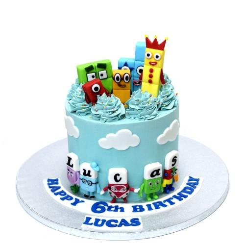numberblocks cake 2 7