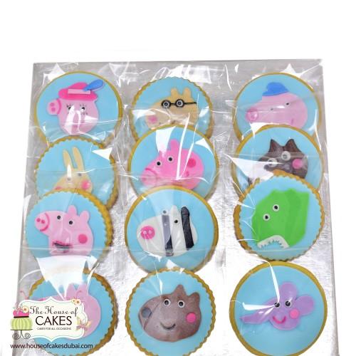 Peppa Pig Cookies 2