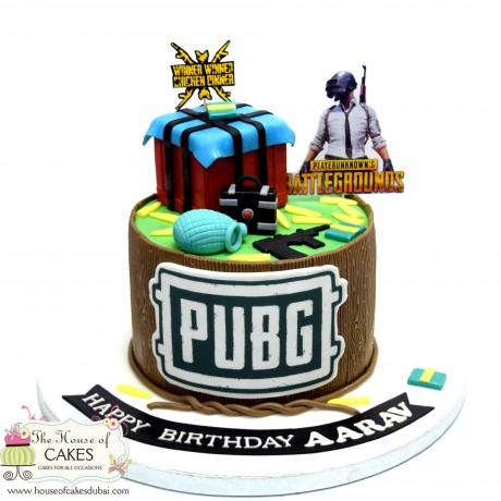 pubg cake 6 6