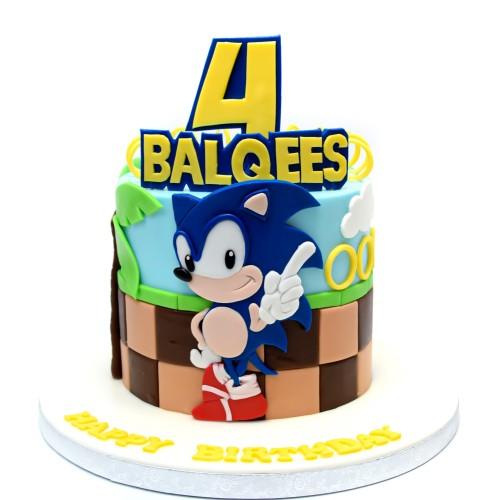 sonic cake 3 7