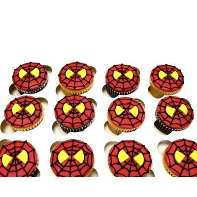 Spiderman cupcakes 3