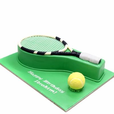 Tennis Cake 4