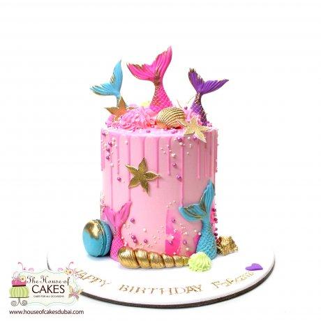 Mermaid Cake 26