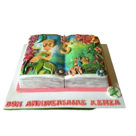 fairy tale book cake 6