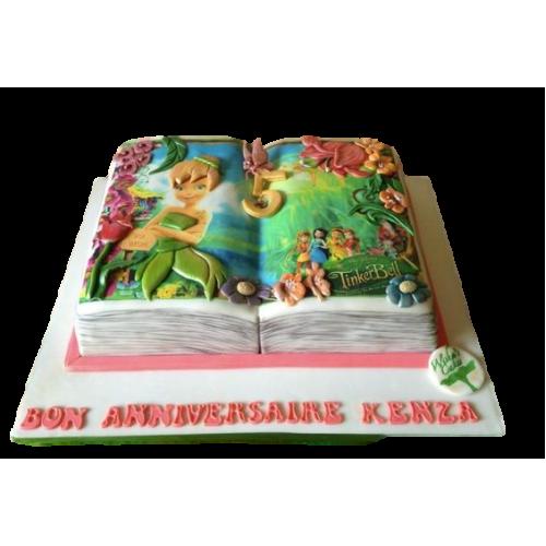 fairy tale book cake 7