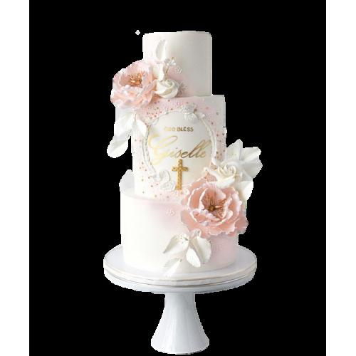 christening cake 5 7