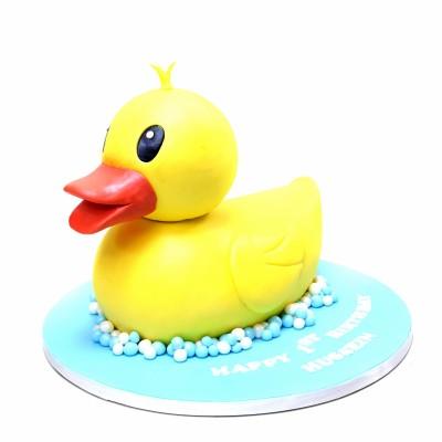 Rubber Duck Cake 7