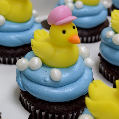 rubber duck cupcakes 2 13