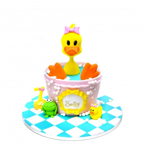 rubber ducky cake 1 6