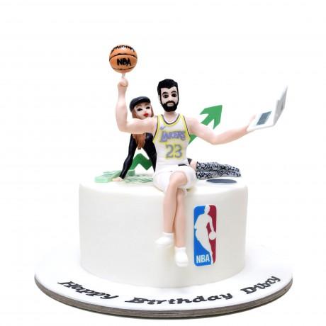 basketball player cake 6