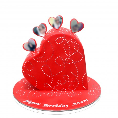 3d heart cake 6