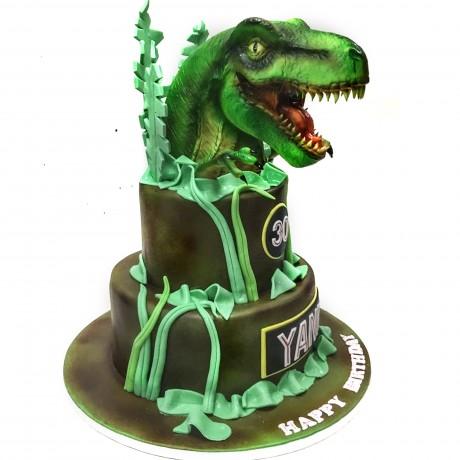dinosaurs cake 1 12