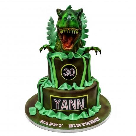 dinosaurs cake 1 13