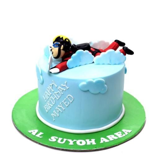 Skydiving cake 1