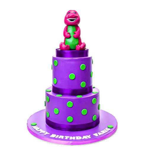 barney cake 31 7