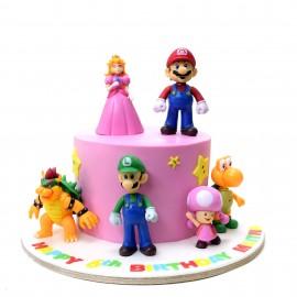 Super Mario Cake 15