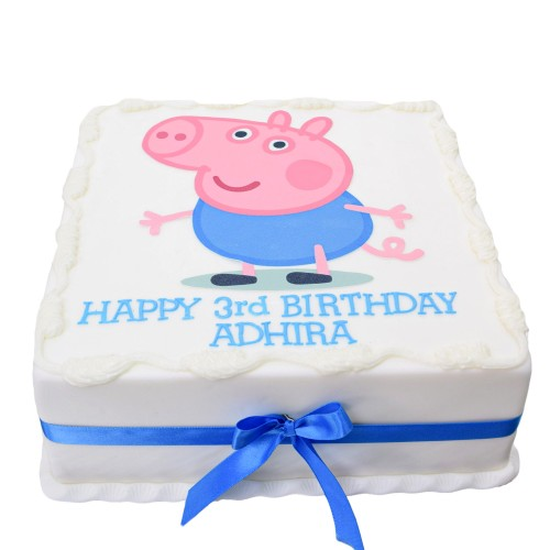 Peppa pig cake 8